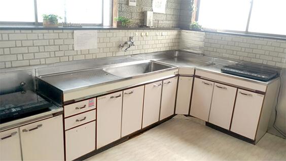 第一寮の台所