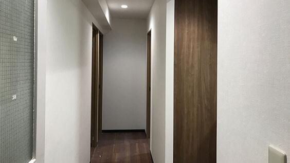 第二寮の廊下