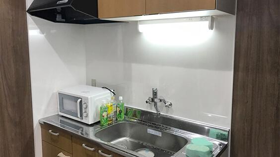 第二寮の台所